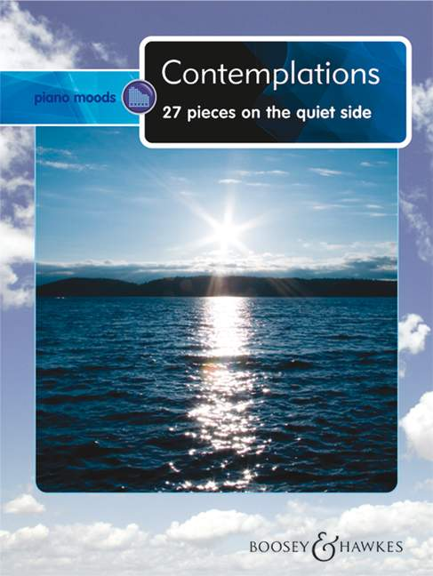 Contemplations 27 pieces on the quiet side piano 9790060118852